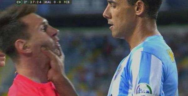 Barcelona empata de visita 0-0 con el Málaga Foto: Captura de video