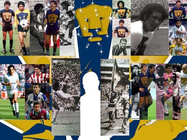 La historia de los 60 años de Pumas, escrita con letras azul y oro. Foto: Especial/Mexsport/GOOOYA