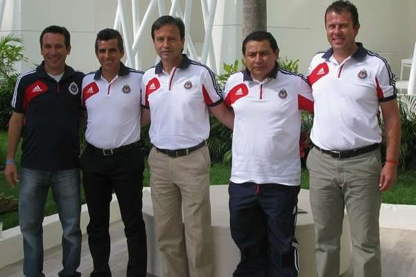 """Diego Arturo Martínez (centro) fue despedido del """"Rebaño"""". Foto: Especial"""