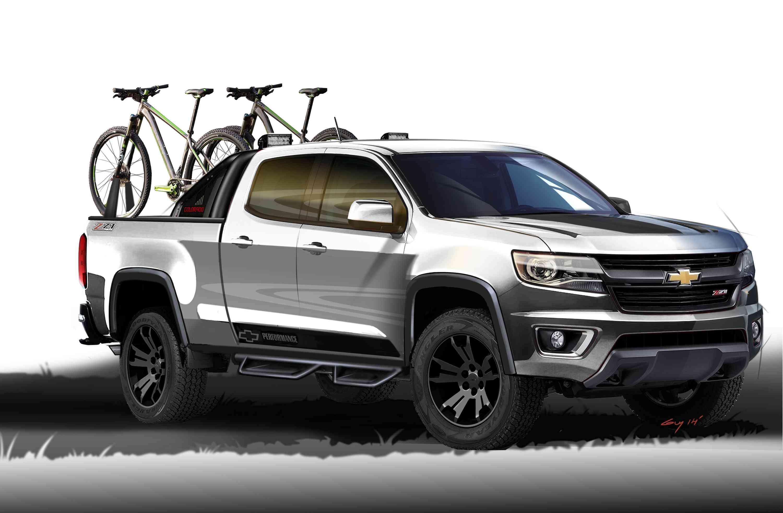 Chevrolet Colorado Sport Concept Foto: Chevrolet