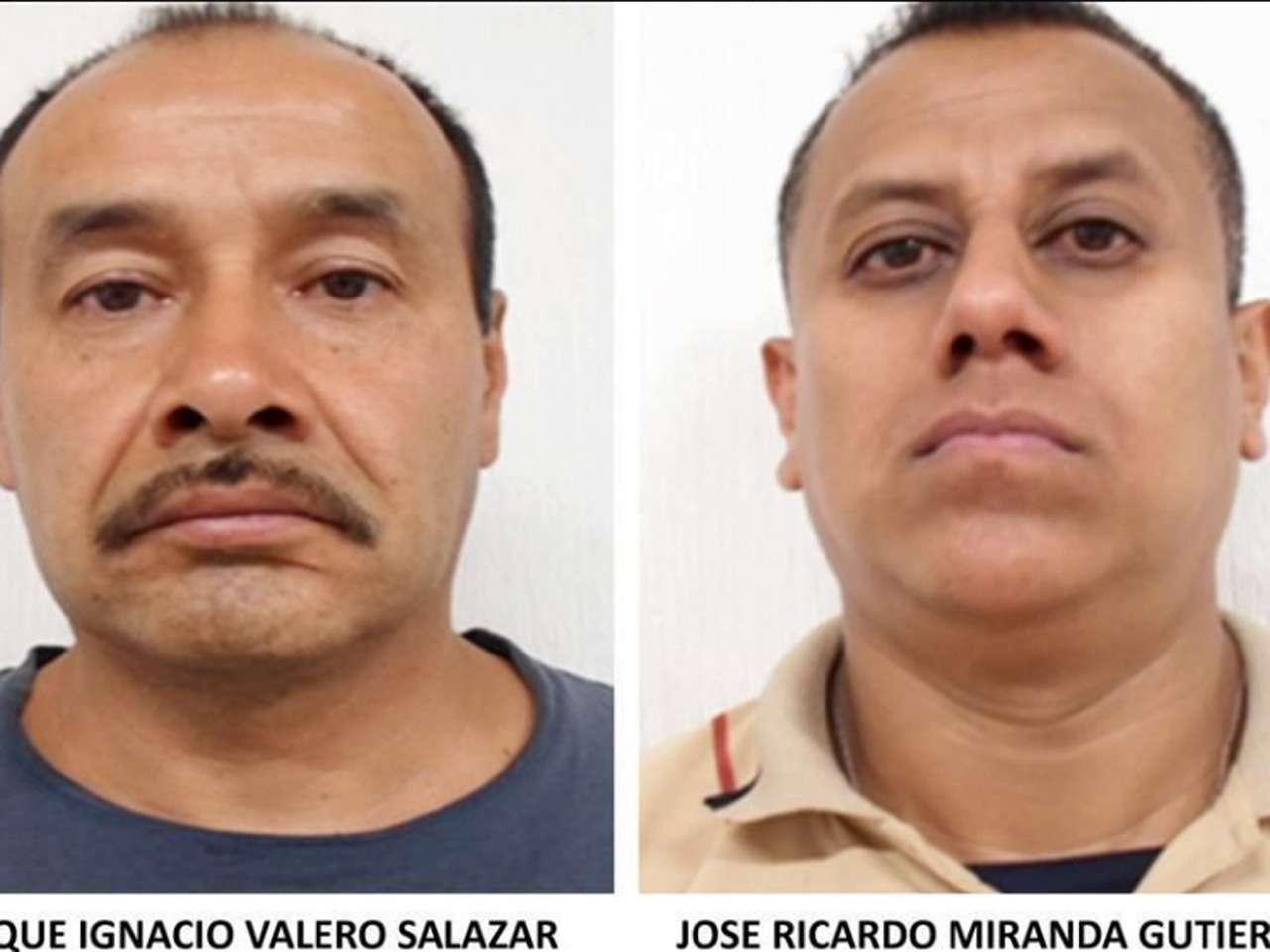 Los hombres fueron arrestados el 13 de septiembre luego de que asaltaran una tienda en División del Norte y Pacífico, en Coyoacán Foto: PGJDF