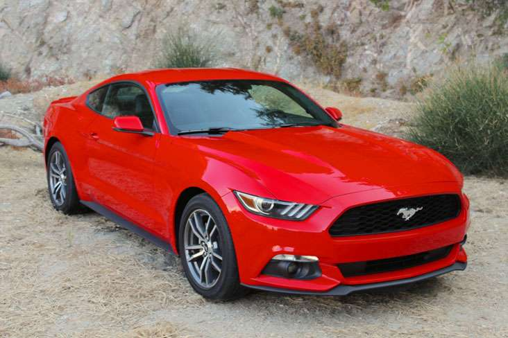 Nova geração do Ford Mustang Foto: Ford/Divulgação