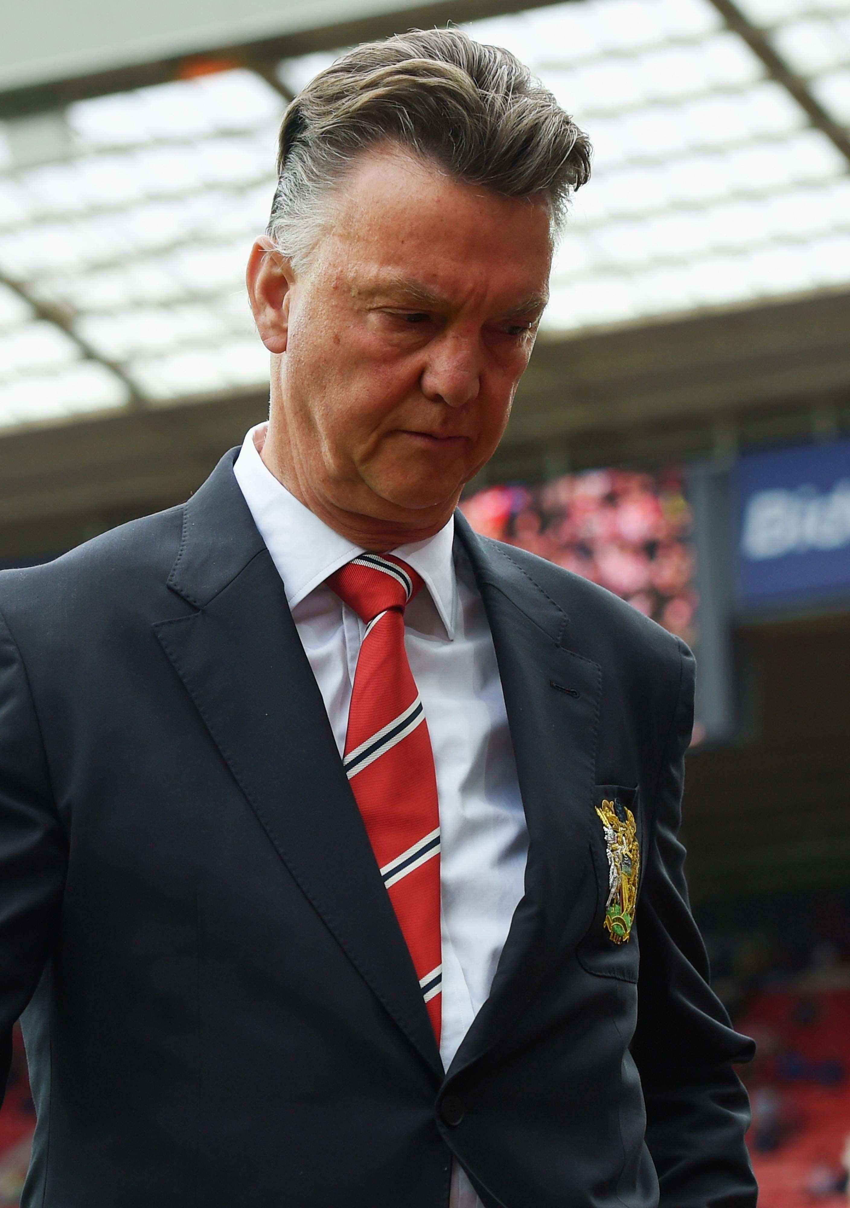 El técnico holandés dice sacar de la crisis al United será complicado. Foto: Getty Images
