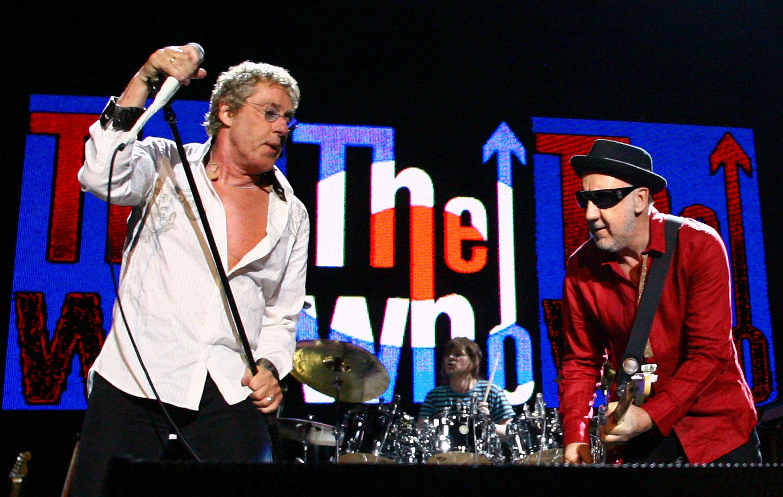 Roger Daltrey e Pete Townshend, líderes do The Who Foto: Bradley Kanaris/Getty Images