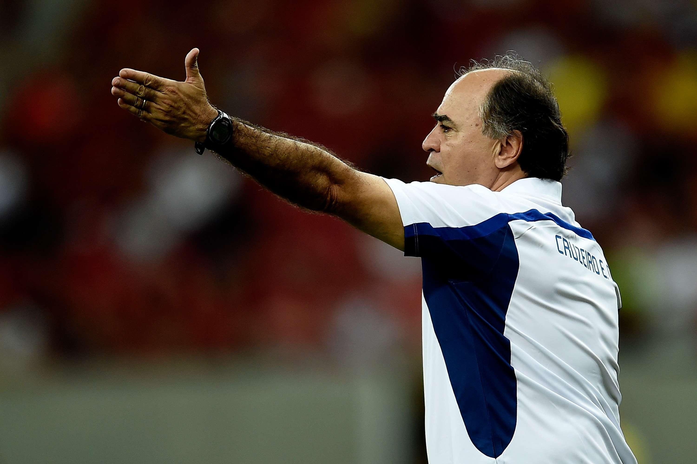 Marcelo Oliveira não conseguiu mudar o Cruzeiro no segundo tempo Foto: Buda Mendes/Getty Images