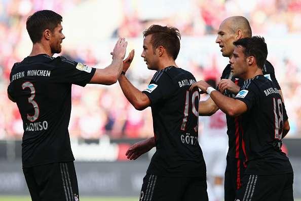 Bayern registró su cuarta victoria de la temporada. Foto: Getty Images