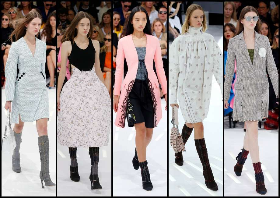 Paris Fashion Week: una pasarela moderna, innovadora y chic Foto: AFP