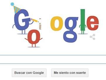 Este 27 de septiembre de 2014, Google celebró con un doodle su aniversario 16. Es la mayor compañía de búsquedas en internet a nivel internacional. Foto: Google