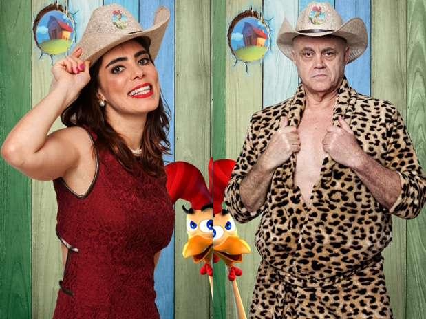 Heloísa e Maroni trocam farpas no reality Foto: Edu Moraes/Record/Divulgação