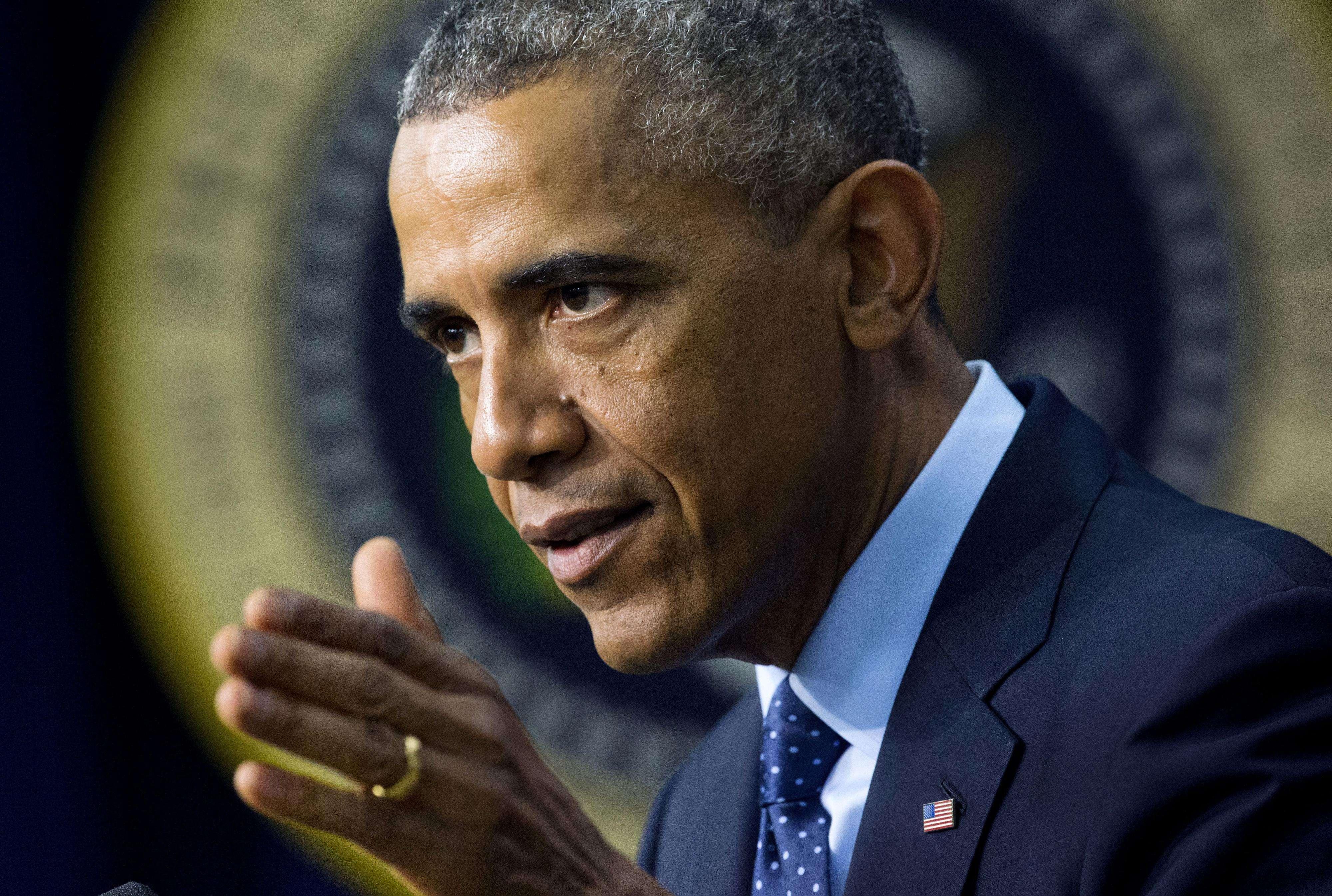 El presidente Obama ratificó el papel de EE.UU. como líder mundial. Foto: AP en español