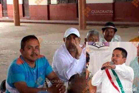 La fotografía del encuentro fue publicada por el portal Quadratin y reproducida por varios medios. Foto: Twitter