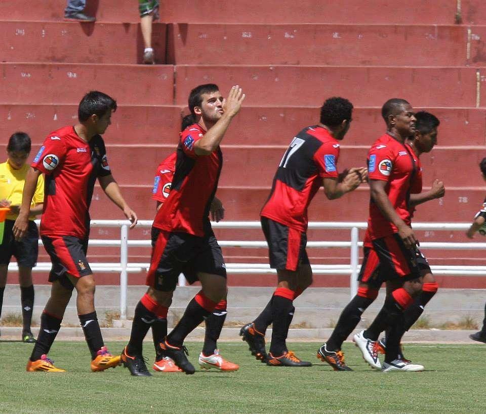 Un solitario gol de Bernardo Cuesta ante Unión Comercio aseguró la punta para Melgar. Foto: Facebook Melgar