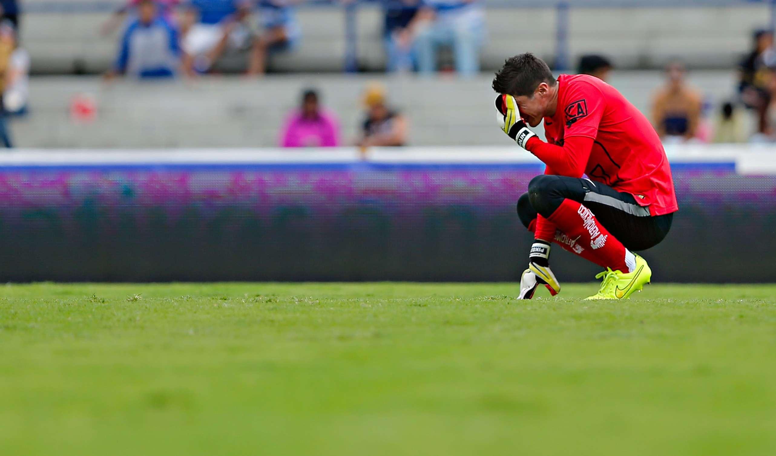 Palacios le quitó el triunfo a sus Pumas. Foto: Imago7
