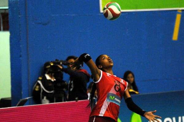 Maguilaura Frías es una de las principales figuras de la selección Sub-20. Foto: FPV