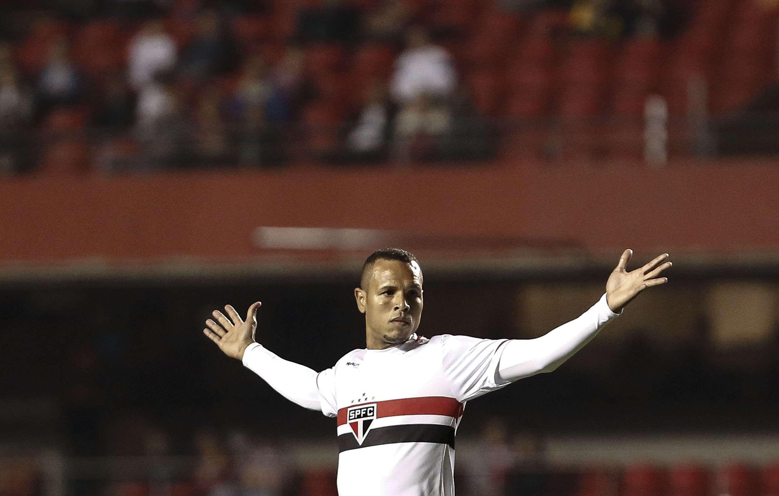 Luís Fabiano entrou apenas no segundo tempo Foto: Miguel Schincariol/Getty Images