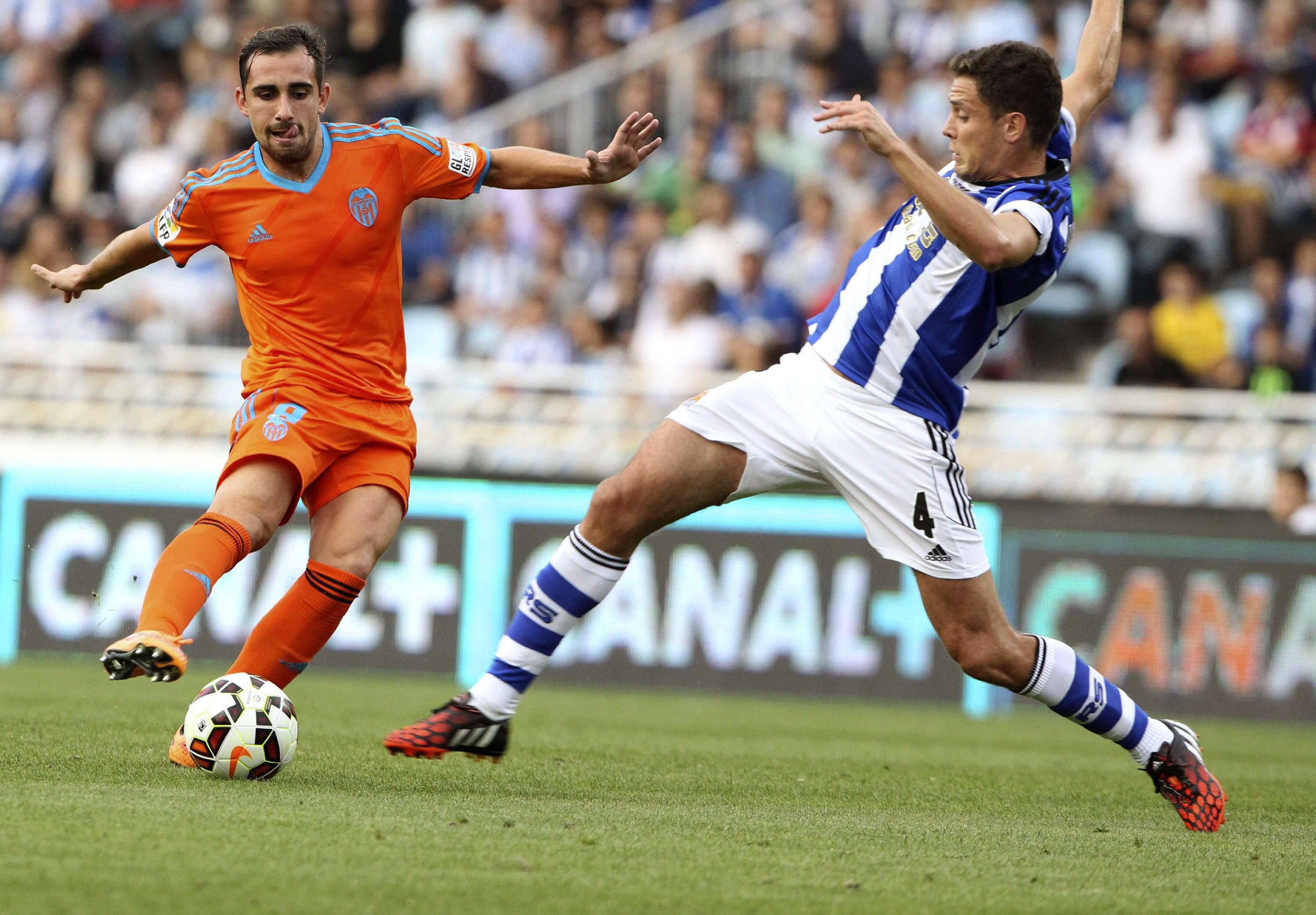 Real Sociedad - Valencia (Jornada 6). Foto: EFE en español
