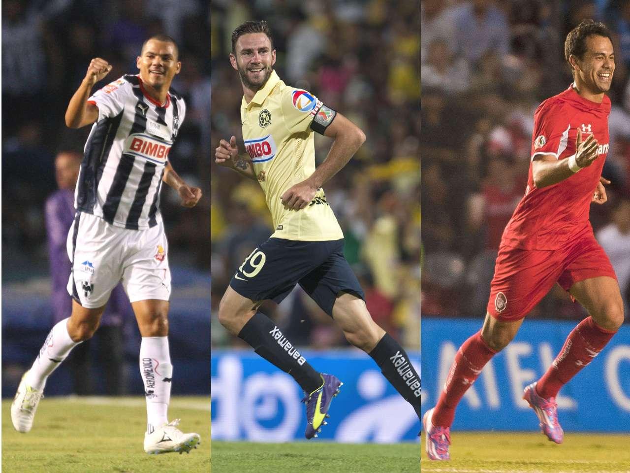 Los mejores jugadores de la jornada 10 del Apertura 2014 Foto: Imago7 / Mexsport