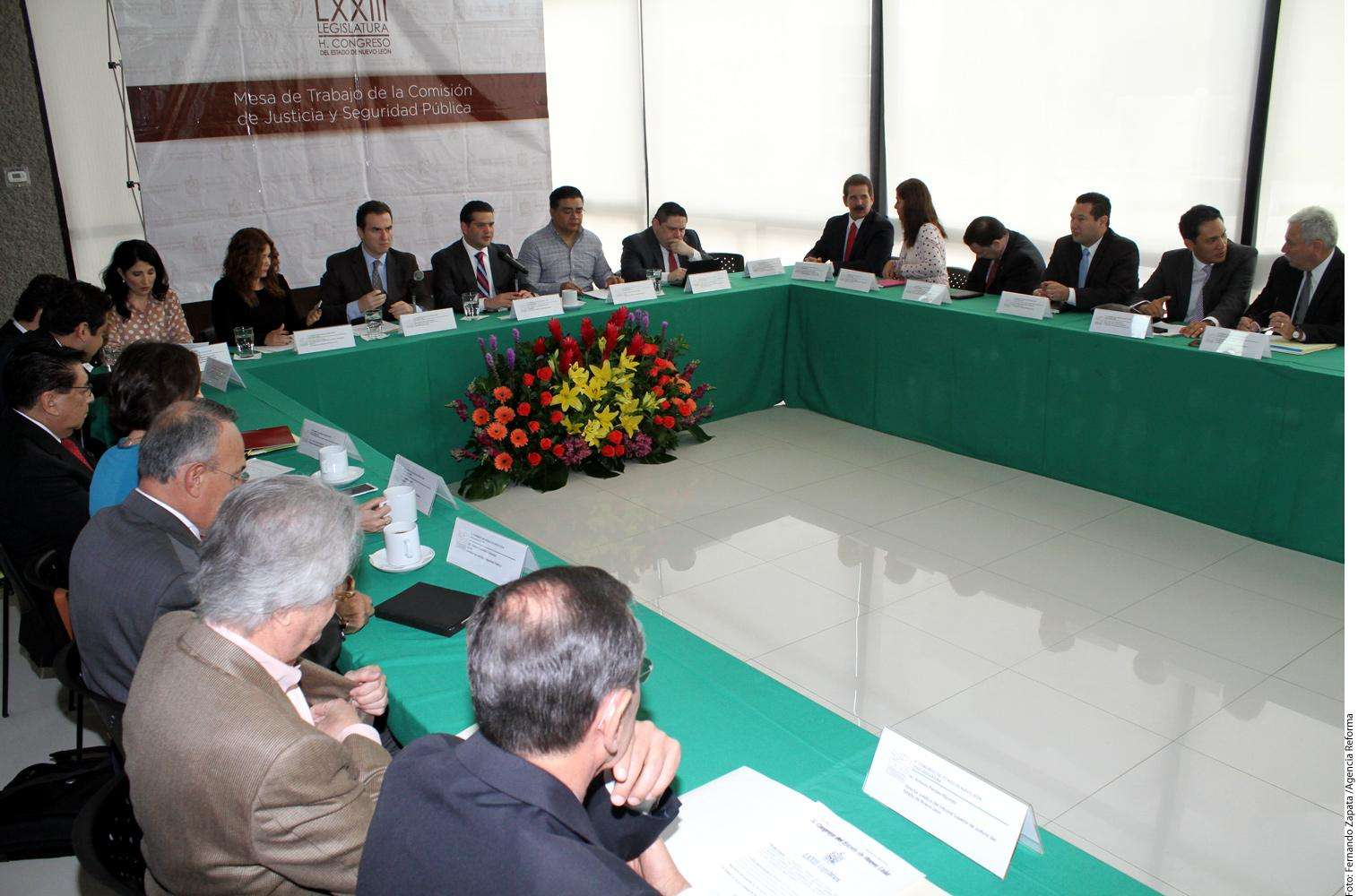 Comisión de Justicia Foto: Agencia Reforma