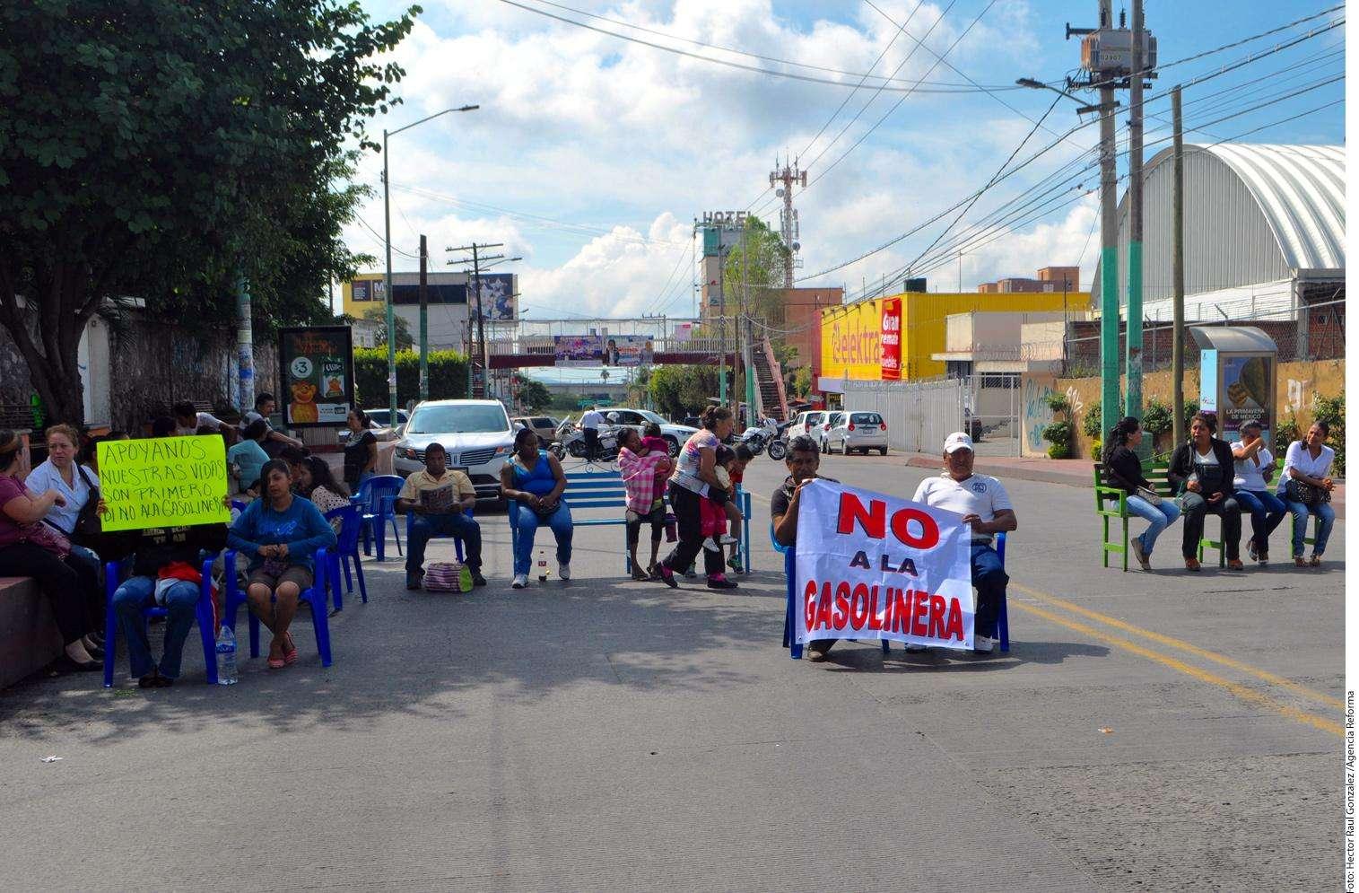 Protesta Foto: Agencia Reforma