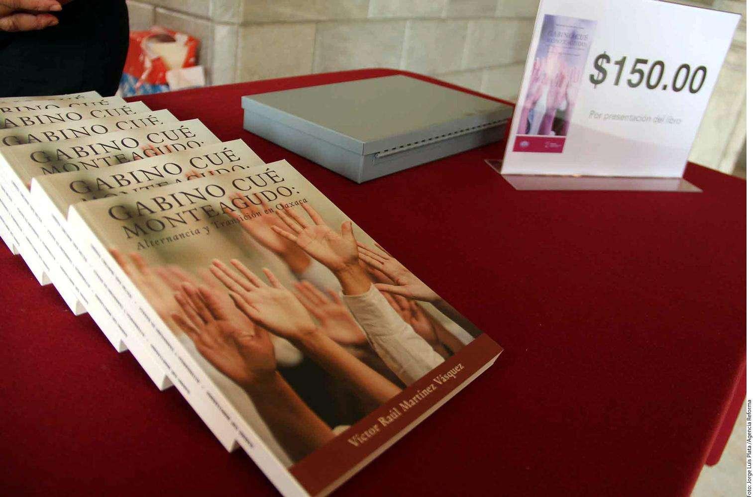Presentación de libro Foto: Agencia Reforma