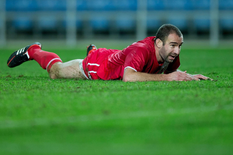 Danny Higginbotham, jugador de Gibraltar. Foto: Getty Images