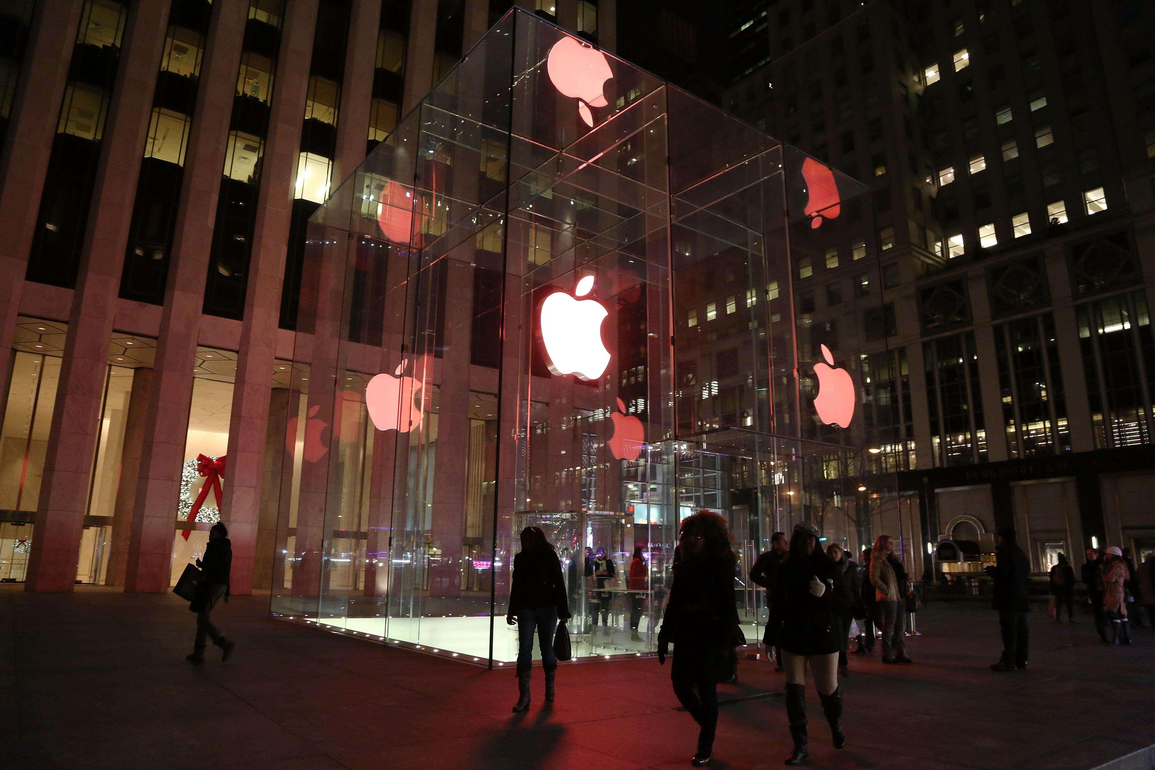 La tienda de Microsoft estará ubicada a pocas cuadras de la de Apple en la Quinta Avenida Foto: Getty Images