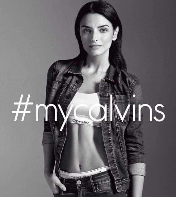 Aislinn Derbez es la nueva chica Calvin Foto: Agencia Mezcalent