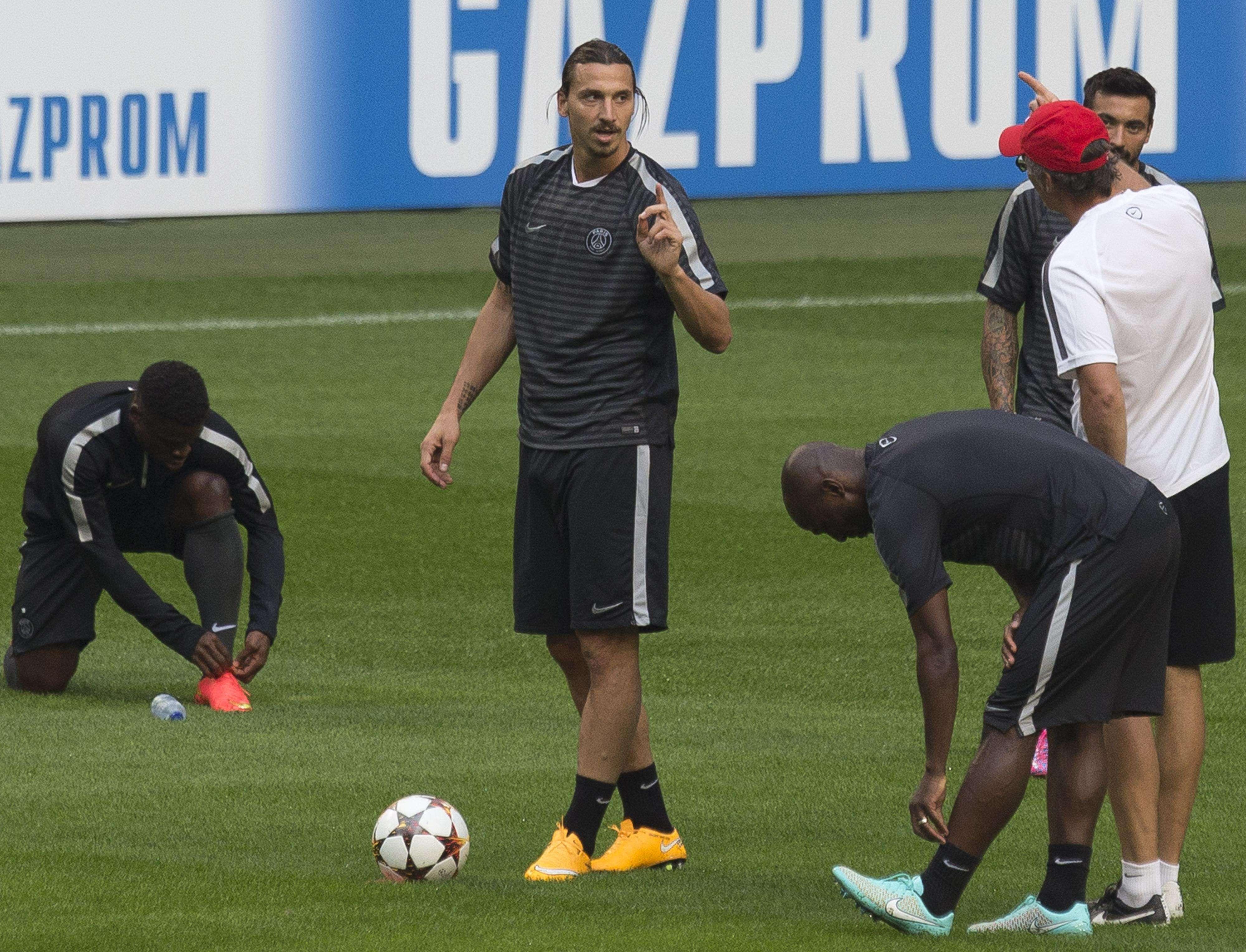 Zlatan Ibrahimovic Foto: AP Images