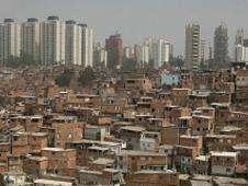 Panorámica de una favela en las afueras de Sao Paulo. Foto: BBC Mundo/Copyright