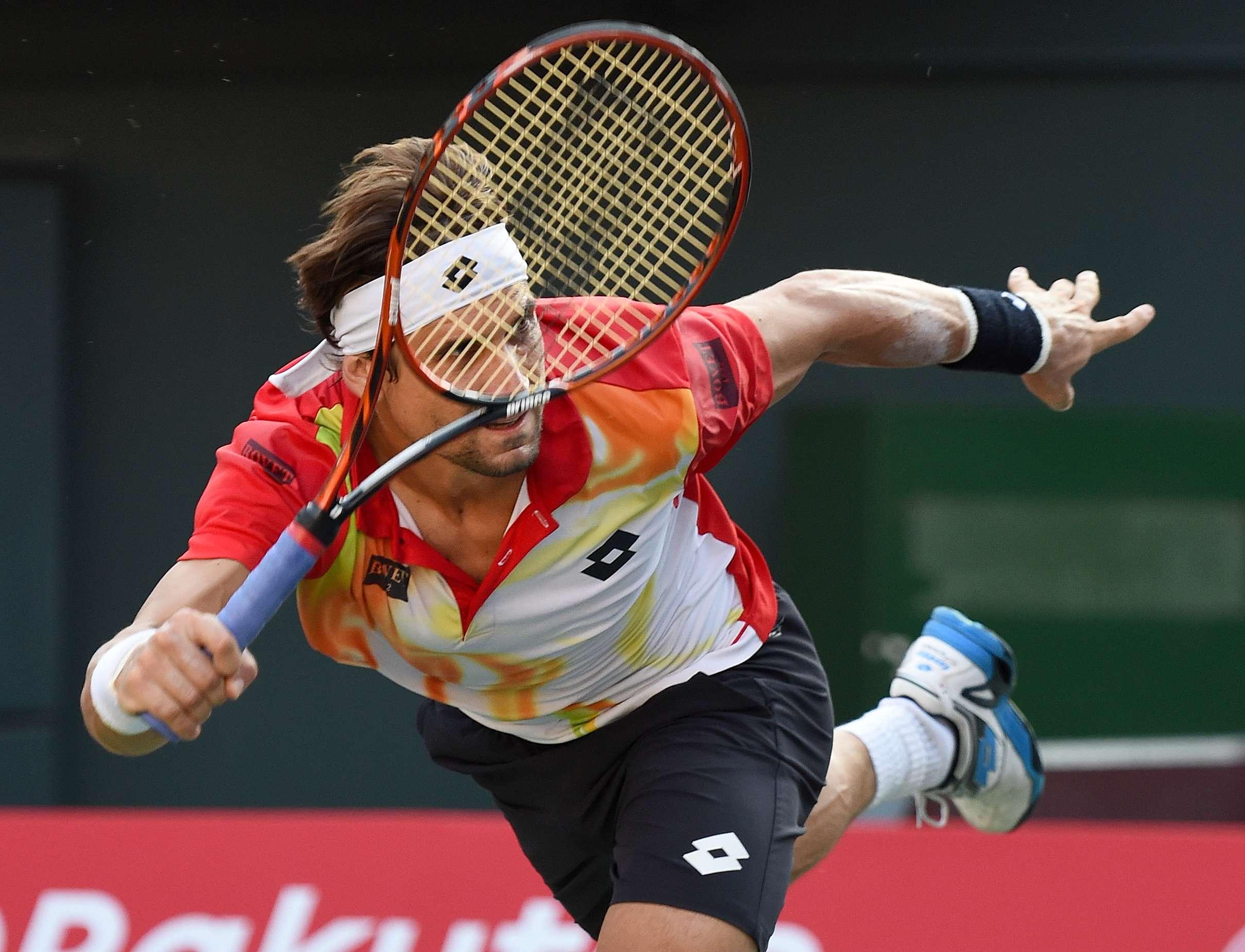 David Ferrer perdió ante Marcel Granollers. Foto: AFP