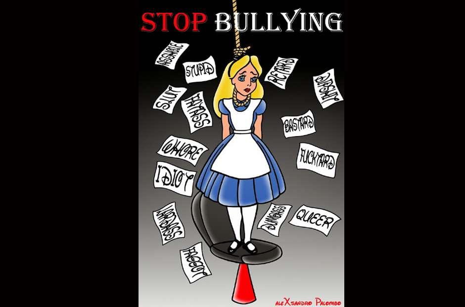 Dibujos animados para combatir el bullying Foto: Alexsandro Palombo