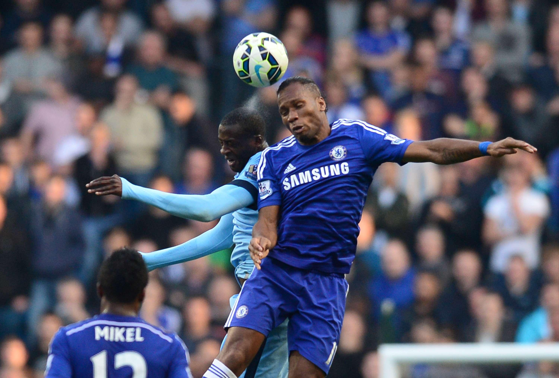 Drogba no estará ante el Sporting de Lisboa. Foto: AFP