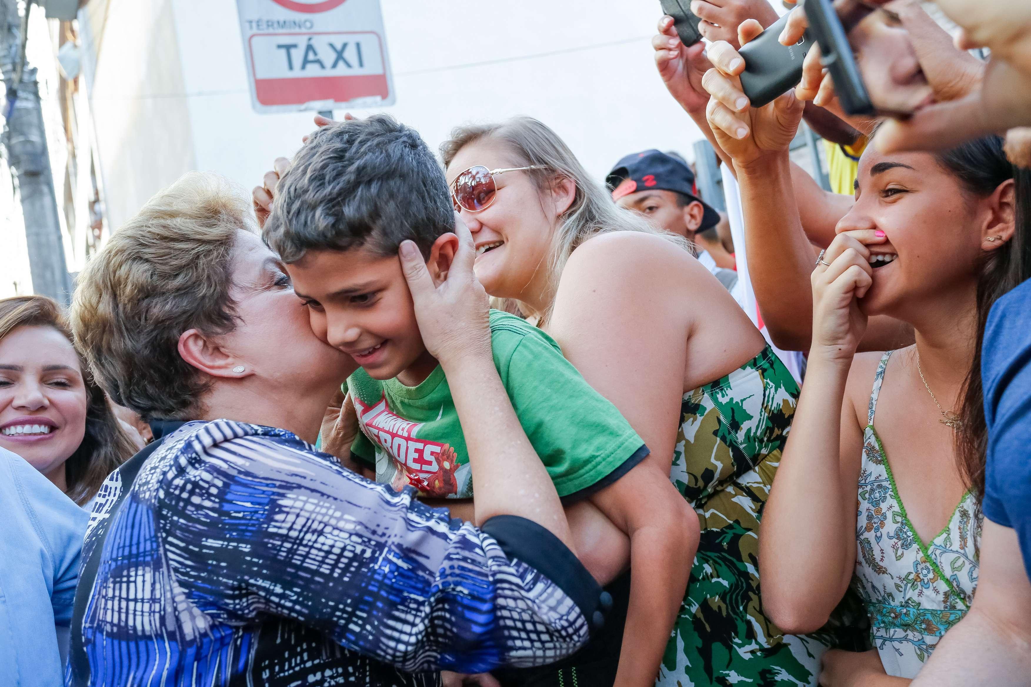 Candidata à Presidência, Dilma Rousseff (PT) Foto: Ichiro Guerra/Divulgação