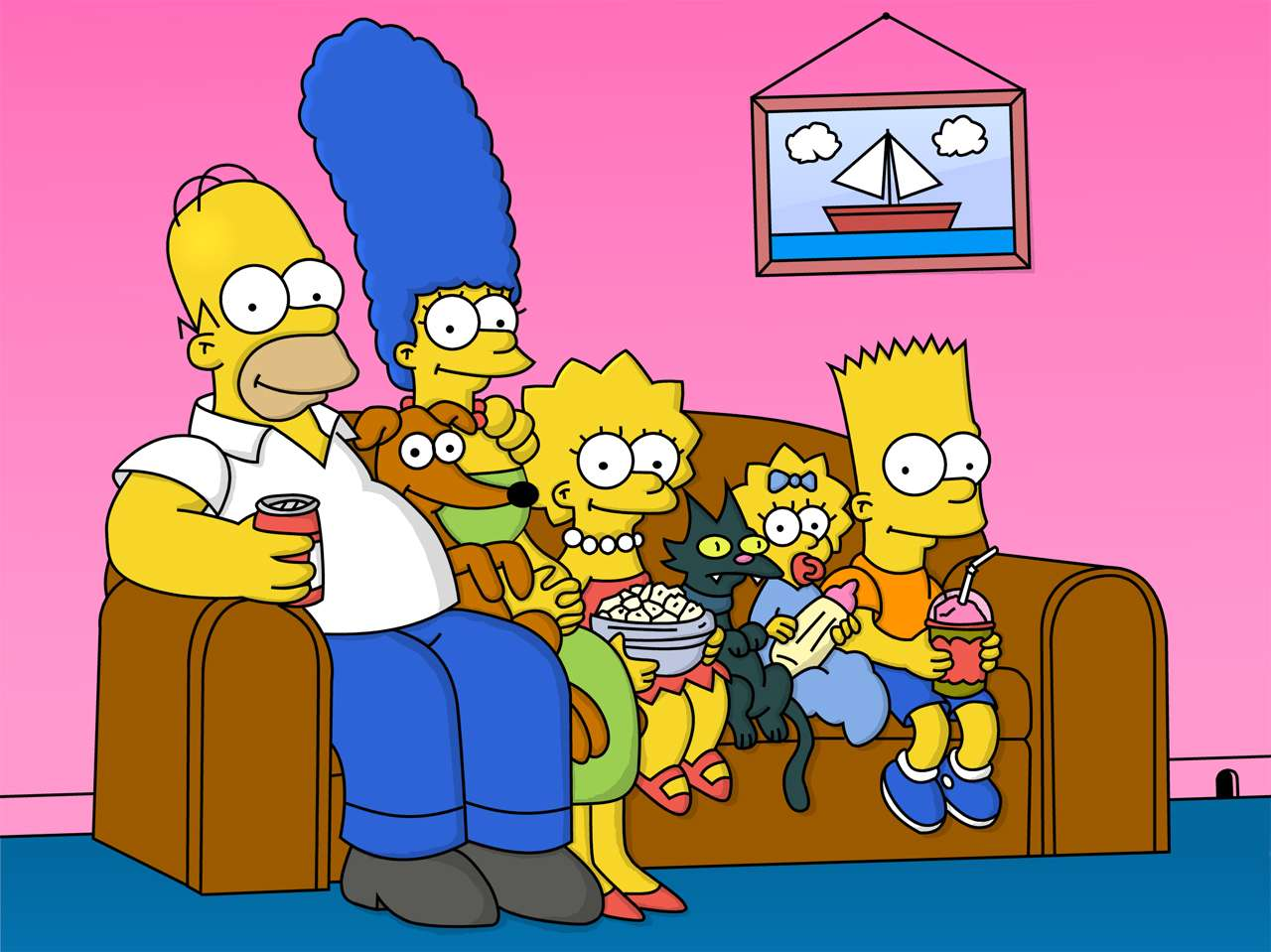 Los Simpson'. Foto: FOX