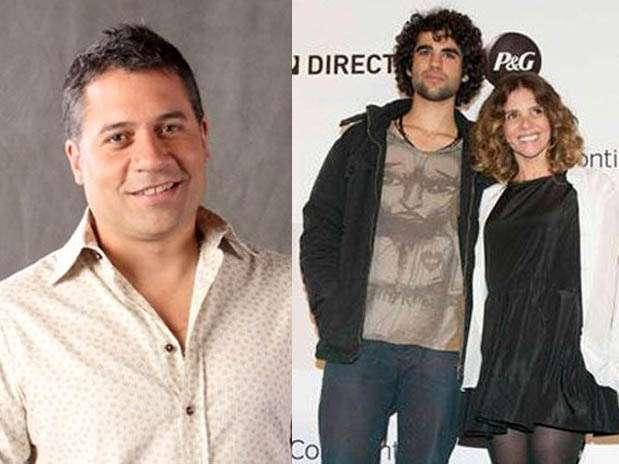 Mathías Brívio / Stefano Salvini y Johanna San Miguel. Foto: Facebook