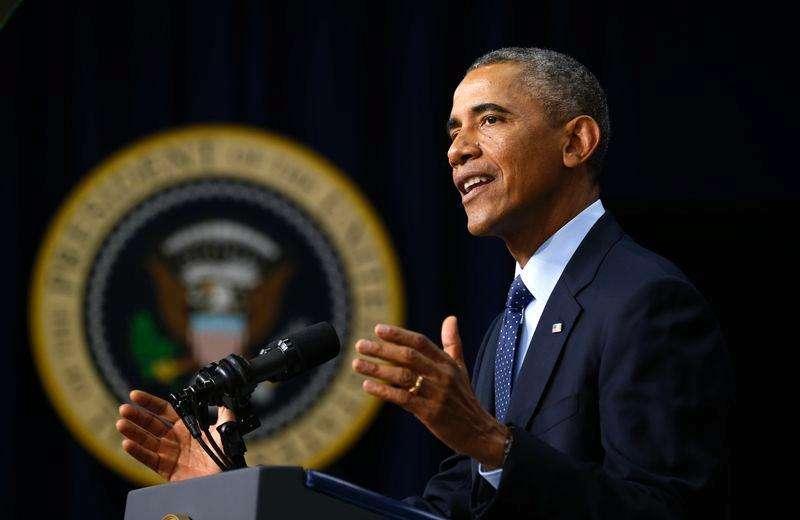 Presidente dos EUA, Barack Obama, discursa em Washington. 26/09/2014 Foto: Kevin Lamarque/Reuters