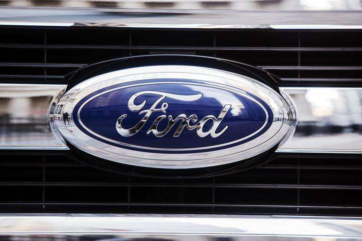 Logotipo da montadora norte-americana Ford. Foto: Lucas Jackson/Reuters