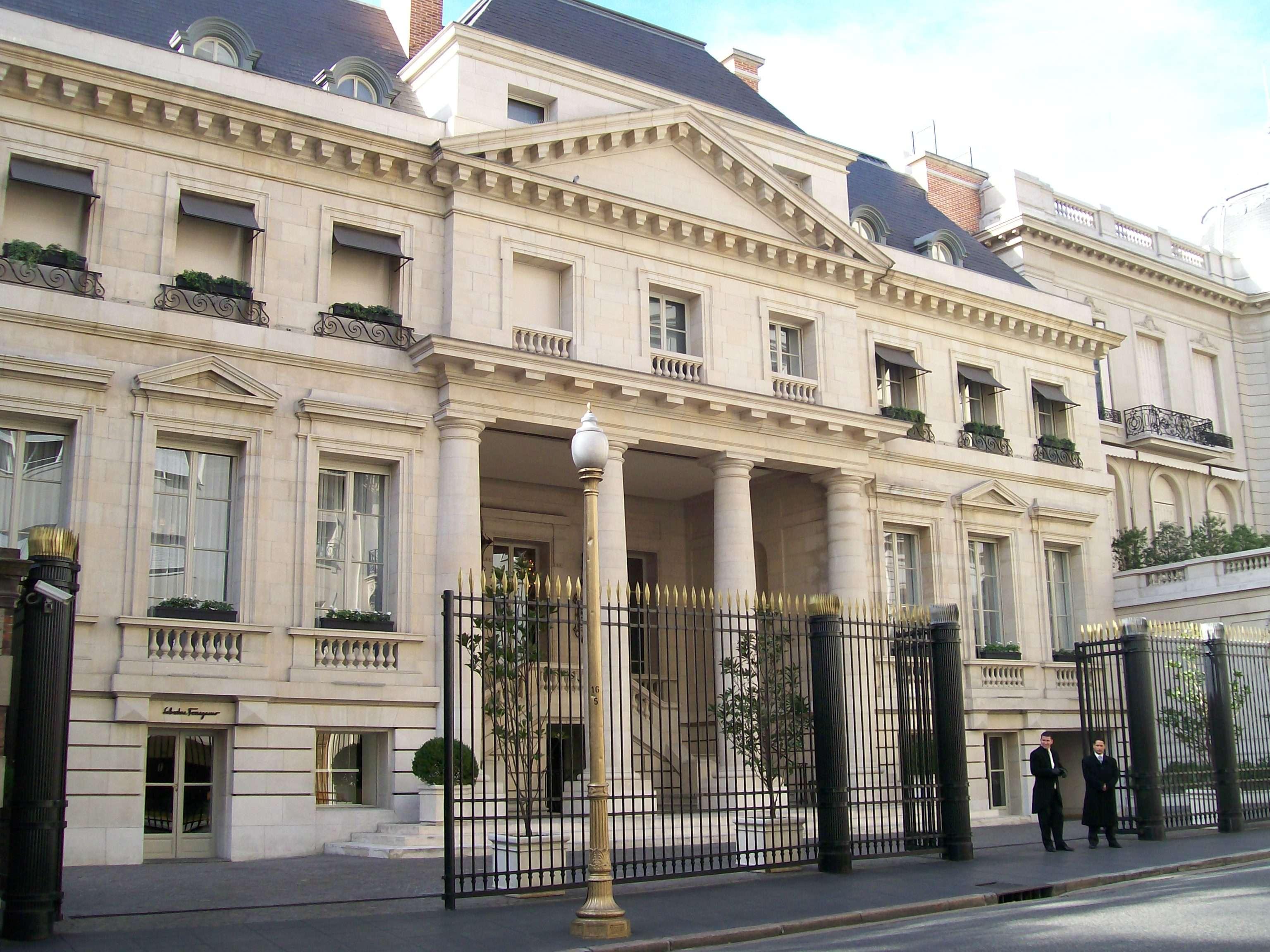 Palacio Duhau Park Hyatt Buenos Aires Foto: Web