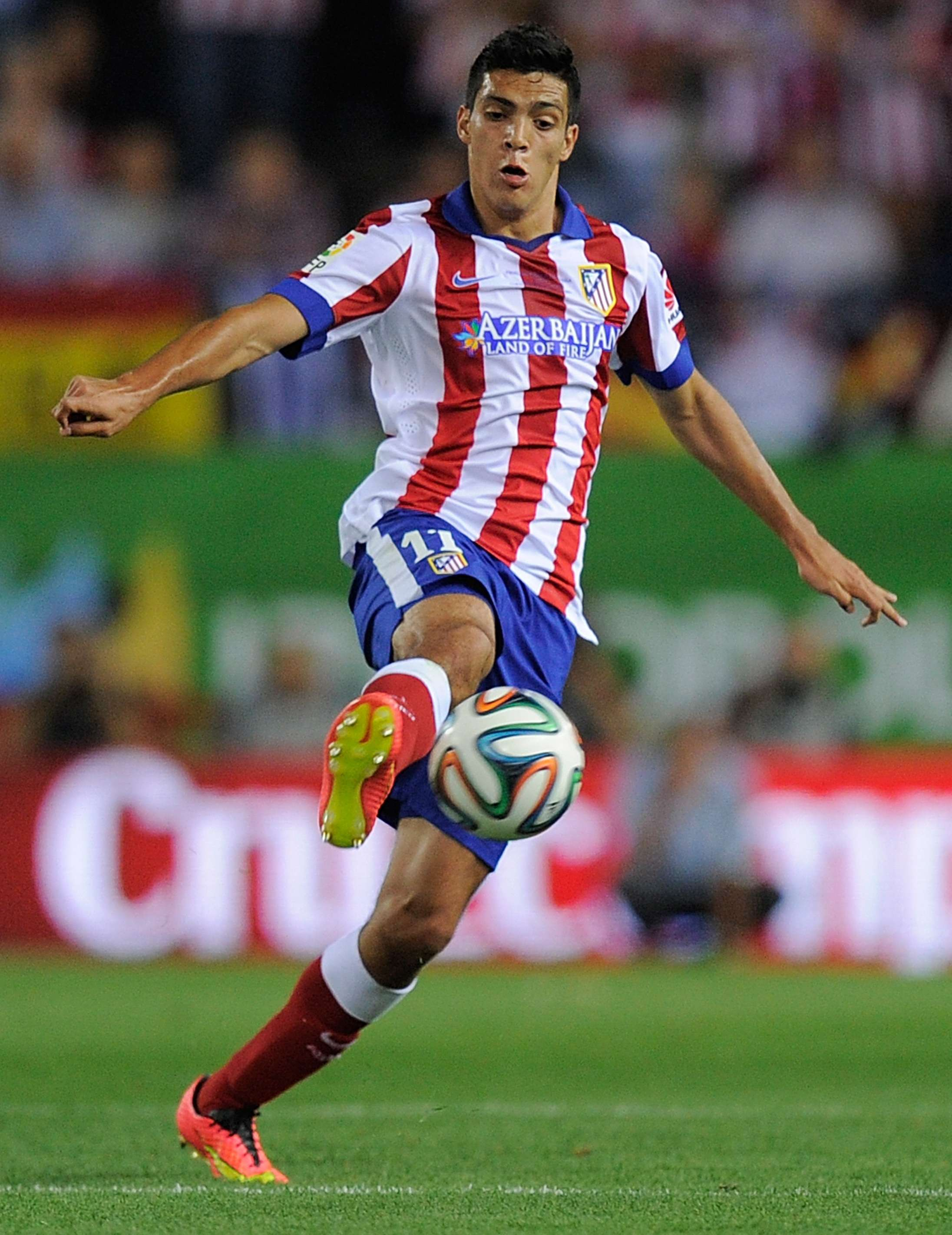 Raúl Jiménez playing for Atletico de Madrid Foto: Getty Images