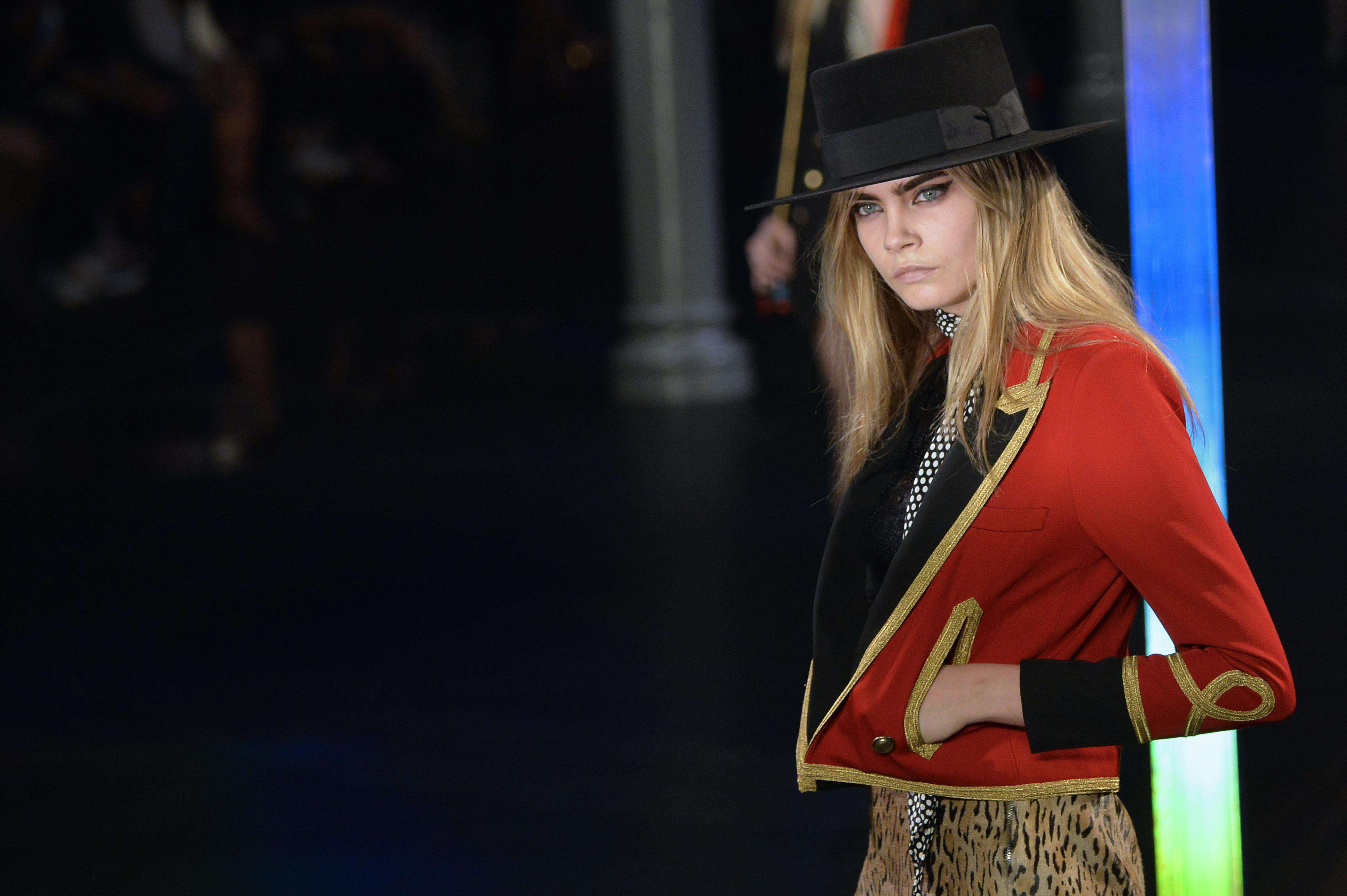 Saint-Laurent-Paris Fashion Week- Foto: AFP