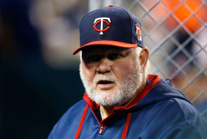 Sep 25, 2014; Detroit, MI, USA; Minnesota Twins manager Ron Gardenhire (35) in the dugout during the fourth inning against the Detroit Tigers at Comerica Park. Mandatory Credit: Rick Osentoski-USA TODAY Sports. Foto: Reuters