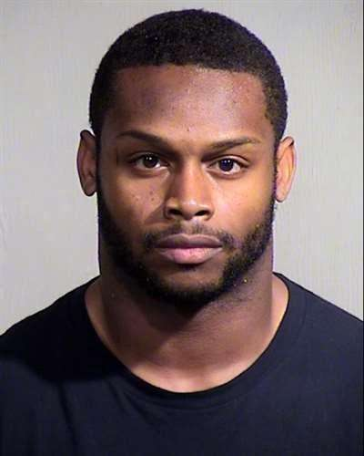 Arizona Cardinals running back Jonathan Dwyer is pictured in this undated handout photo obtained by Reuters September 17, 2014. Foto: Maricopa County Sheriff's Office/Reuters