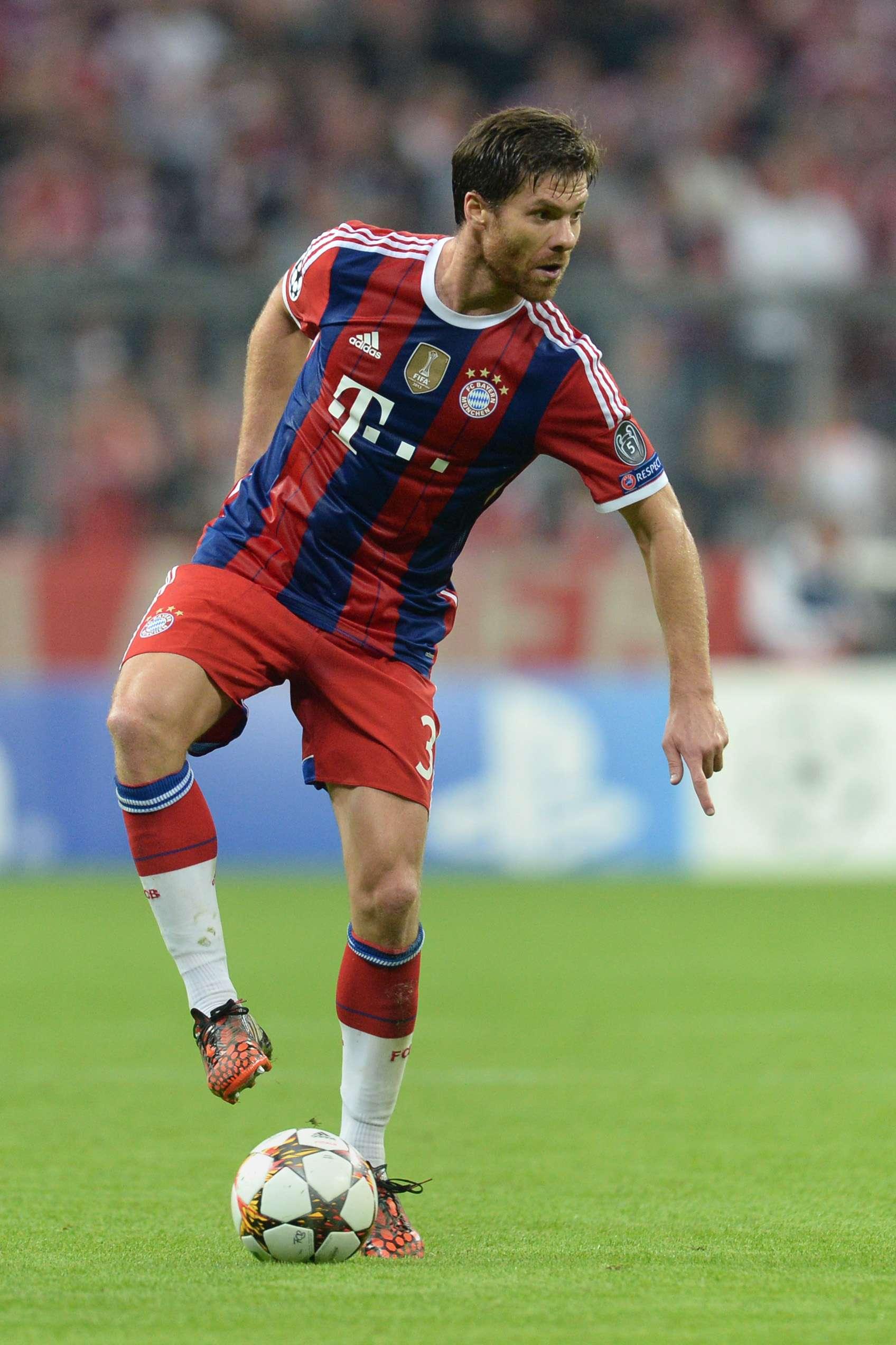 Xabi Alonso ha caído muy bien en la escuadra del Bayern Múnich. Foto: AFP