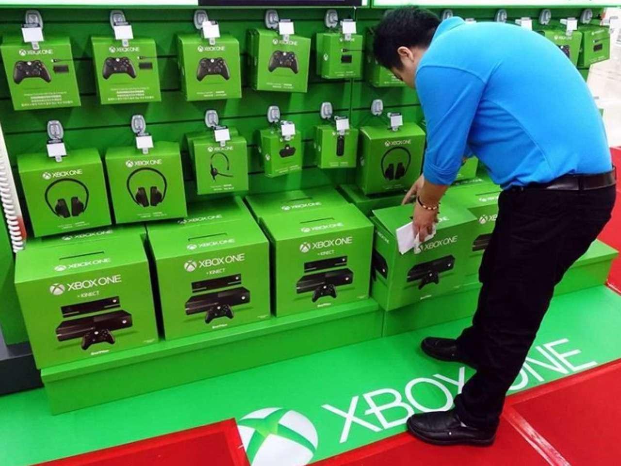 Microsoft lanzó su Xbox One en 37 ciudades de China, disponible en más de 4 mil tiendas Foto: AFP en español