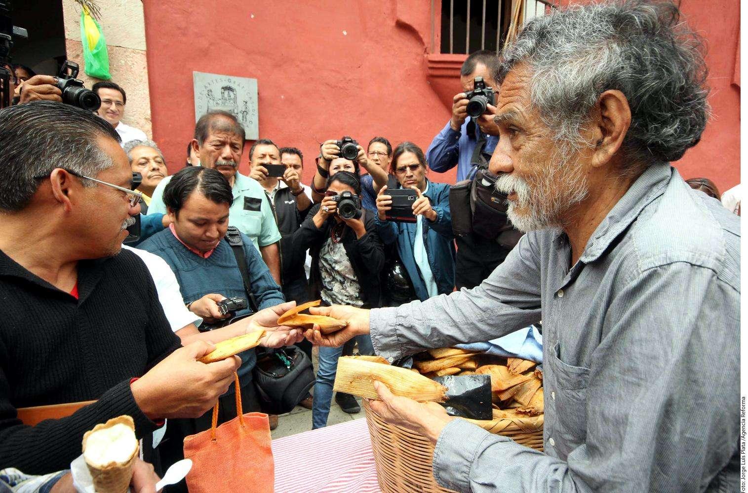 Pintor Francisco Toledo Foto: Agencia Reforma