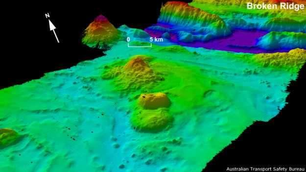 El fondo del océano está marcado por los restos de antiguos volcanes que se conocen como montes submarinos. Foto: BBCMundo.com
