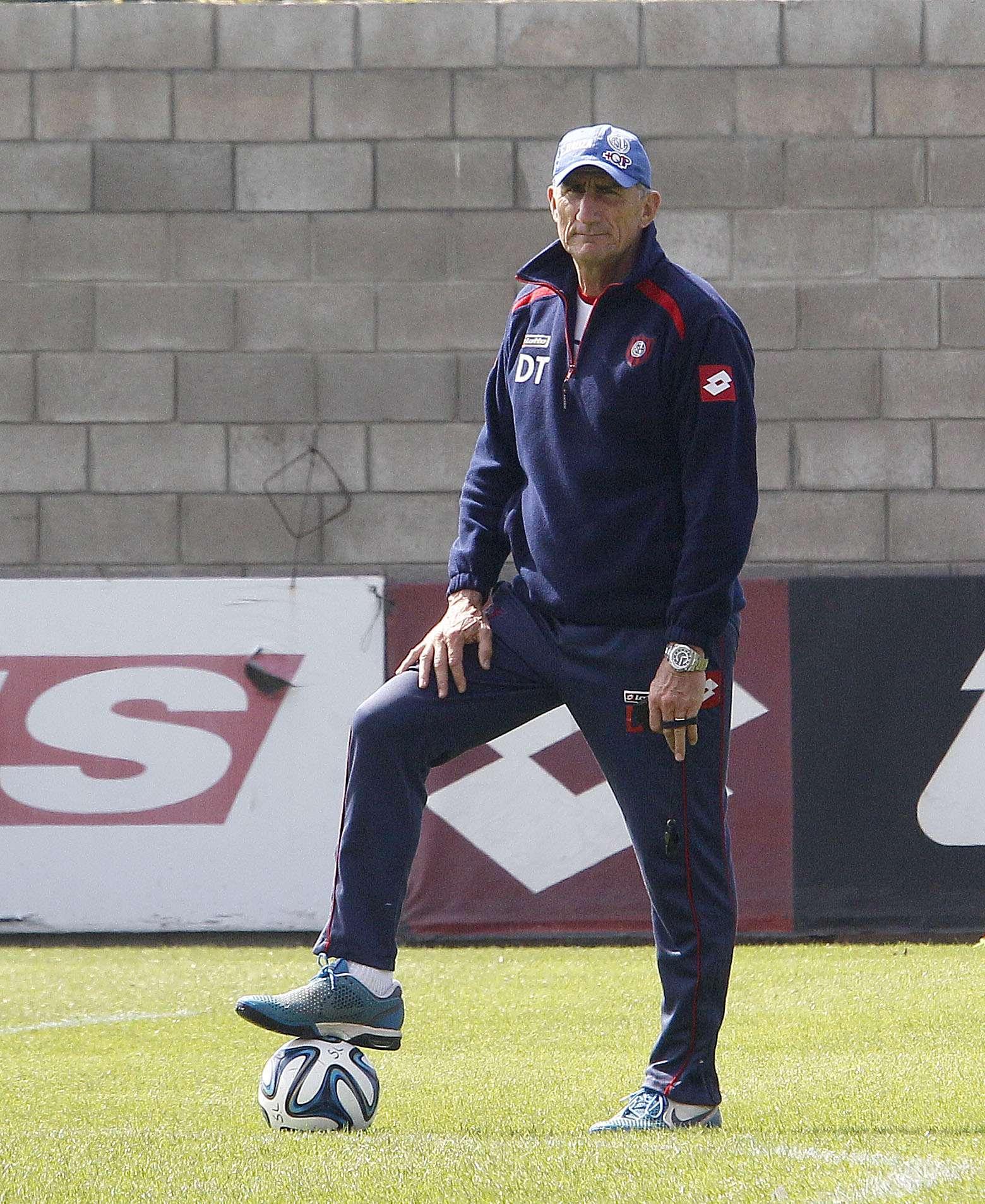 El entrenador de San Lorenzo, Edgardo Bauza Foto: NA