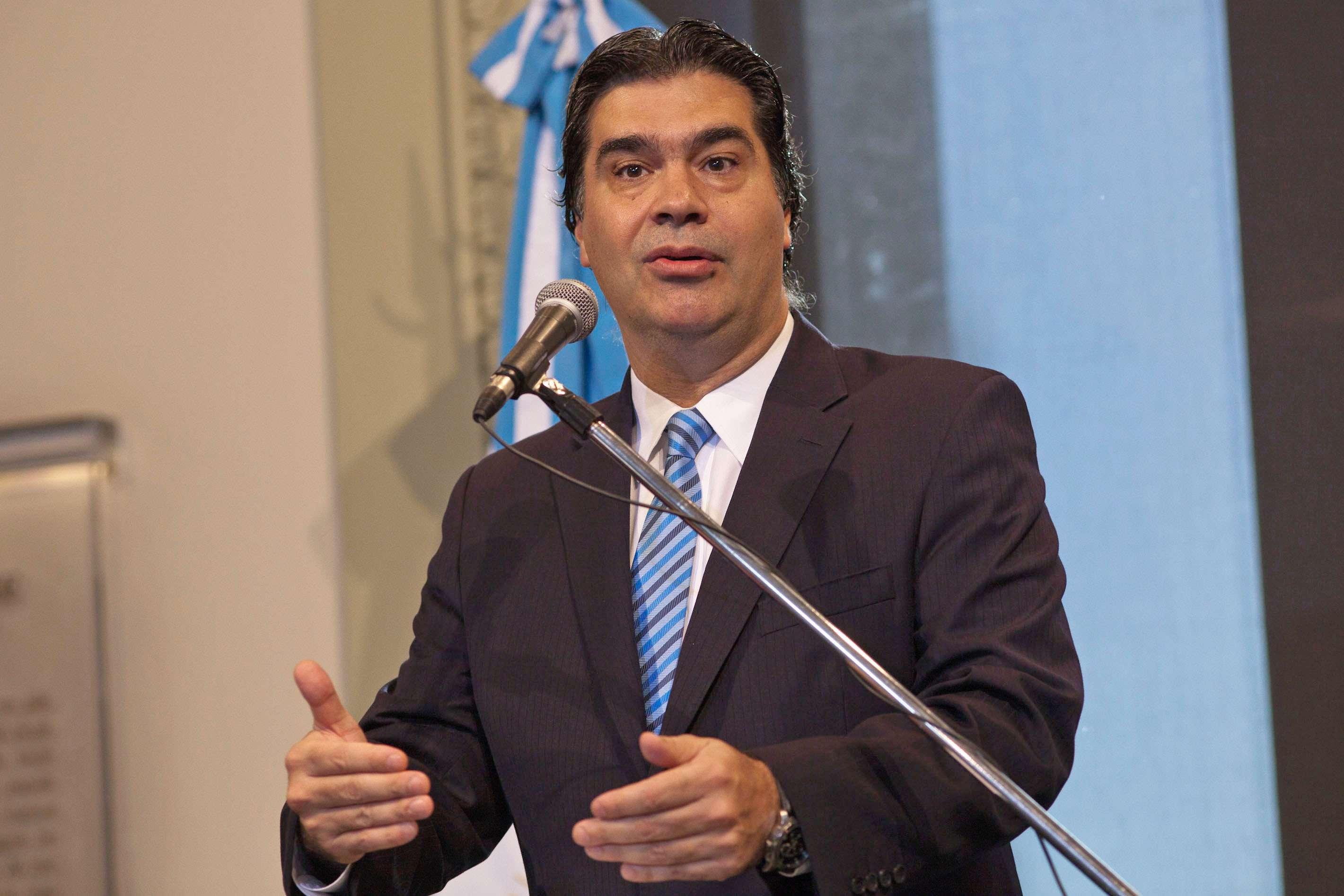 Jorge Capitanich, jefe de Gabinete Foto: NA