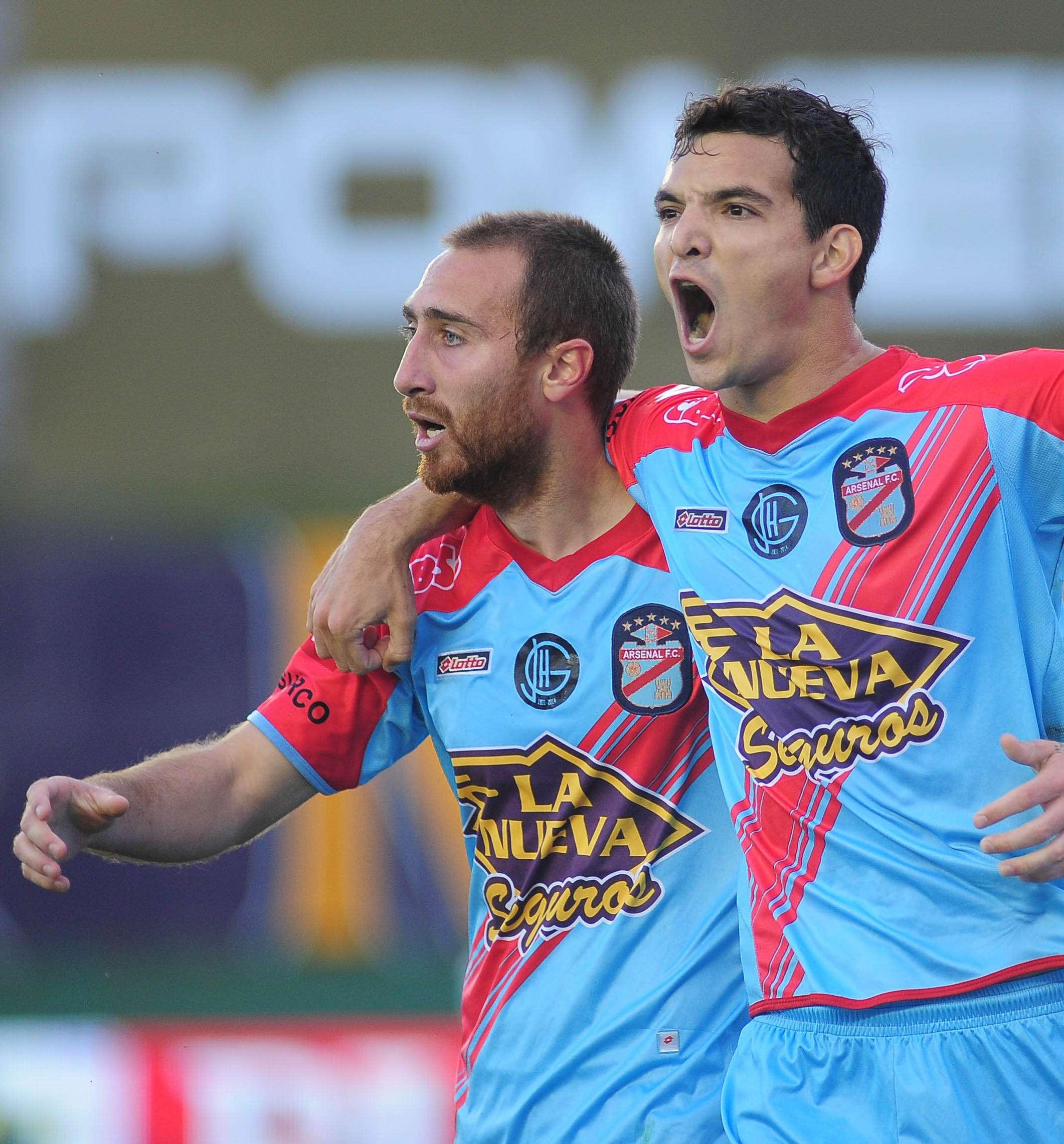 Arsenal goleó a Godoy Cruz por 3 a 0, Foto: NA