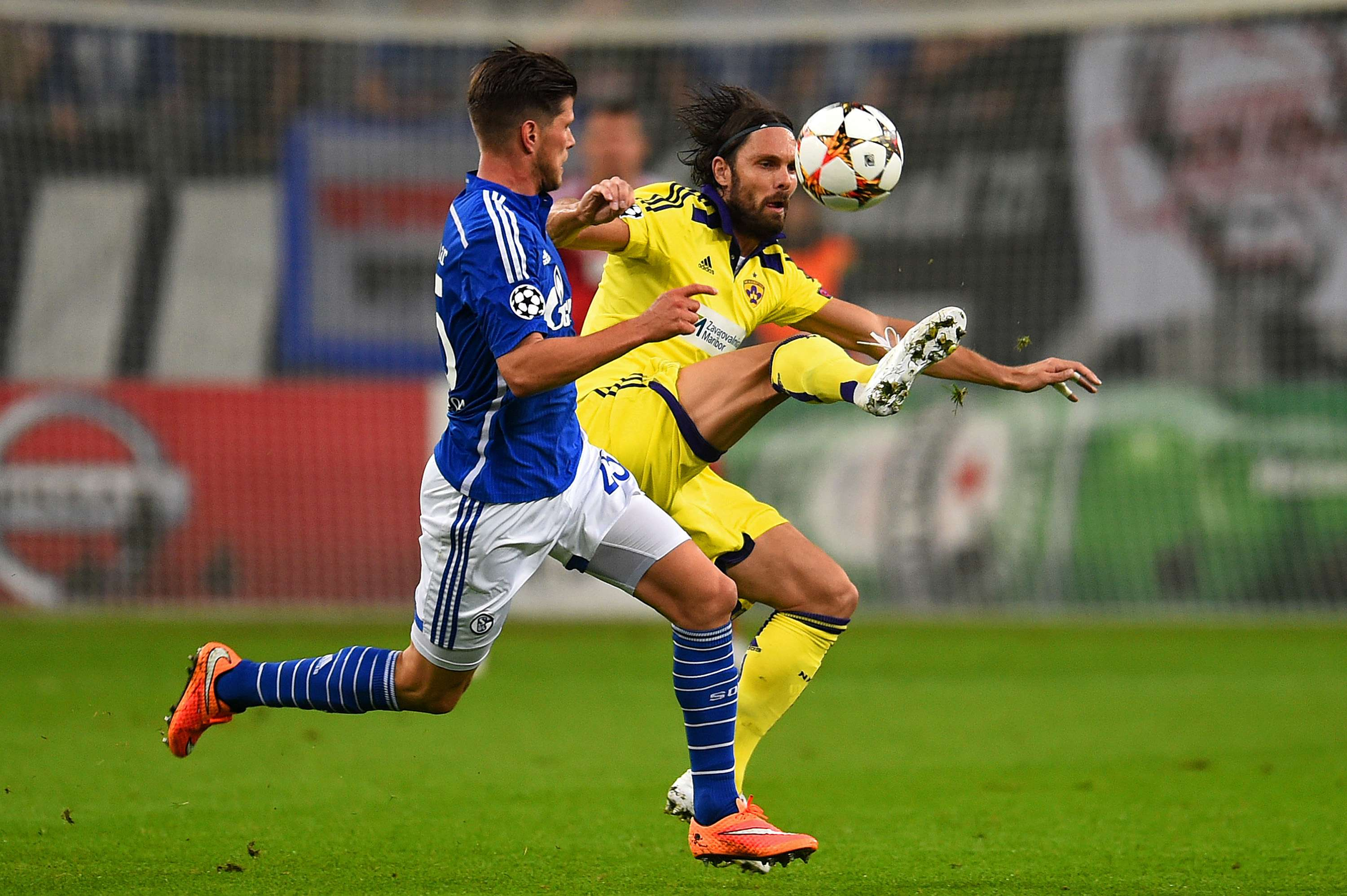 Schalke 04 y Maribor empatan 1-1 en la Champions League. Foto: Getty Images